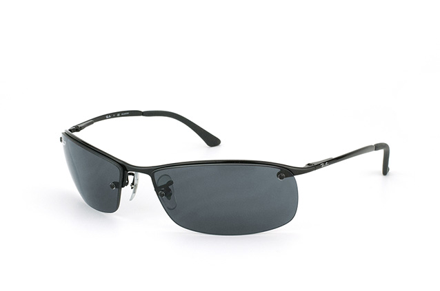 Ray-Ban Top Bar RB 3183 002/81 perspective ...