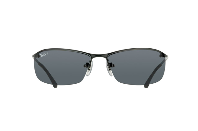 Ray-Ban Top Bar RB 3183 002/81 Perspektivenansicht