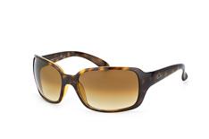 Luxottica Fashion Brillen Vertriebs GmbH Ray-Ban RB 4068 710/51, Square Sonnenbrillen, Braun