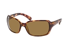 Ray-Ban RB 4068 894/58 Havana / Polarised brown perspective view thumbnail