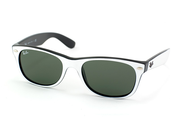 ray ban sonnenbrille schwarz weiss