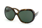 Ray-Ban Jackie Ohh II RB 4098 710/71 Marrón / Verde perspective view thumbnail