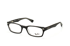 Ray-Ban RX 5150 2034, Rectangle Brillen, Schwarz