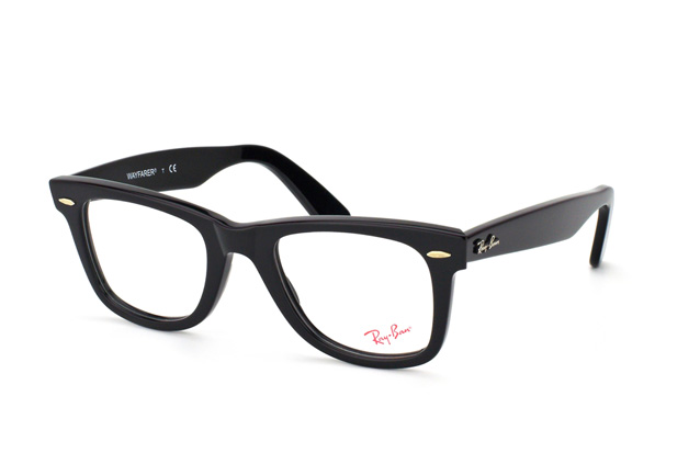 a2f1298301 ... Glasses  Ray-Ban Original Wayfarer RX 5121 2000. null perspective view  ...
