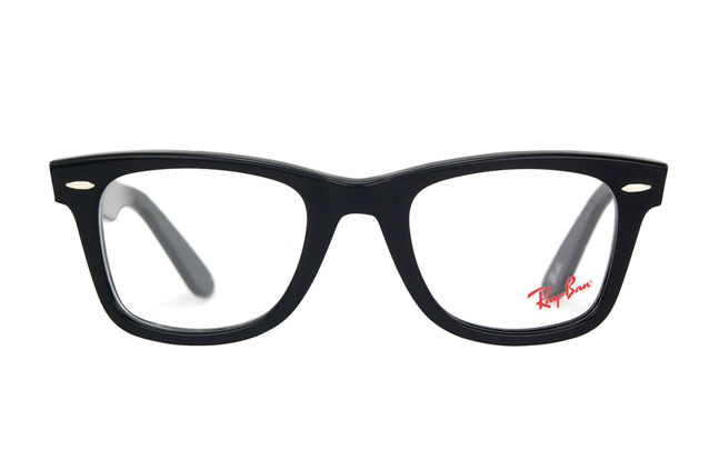 ray ban wayfarer prescription lenses  ray ban original wayfarer rx 5121 2000 perspective view