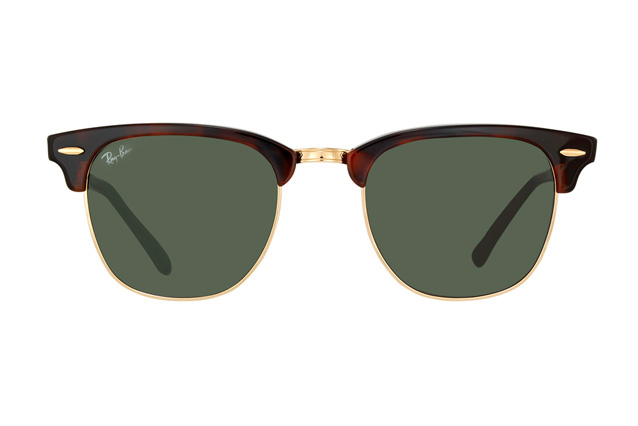 Ray-Ban Clubmaster RB 3016 W0366 small perspective view