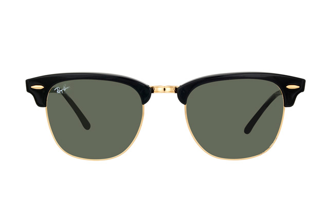 Ray-Ban Clubmaster RB 3016 W0365 small vista en perspectiva