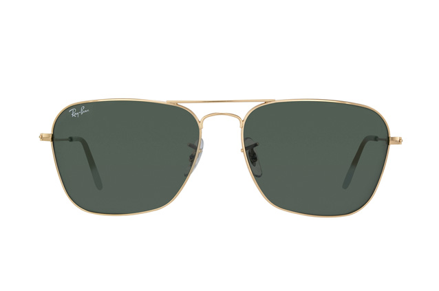 Ray-Ban Caravan RB 3136 001 perspective view