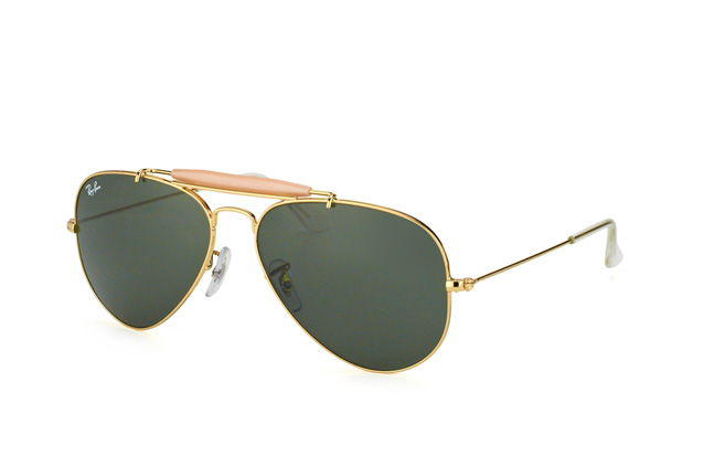 Ray-Ban Outdoorsman II RB 3407 001 vista en perspectiva