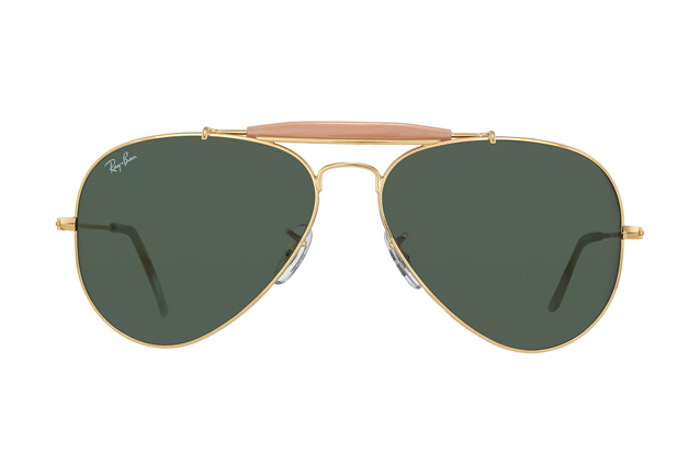 Ray-Ban Outdoorsman II Rainbow RB 3407 001 perspective view