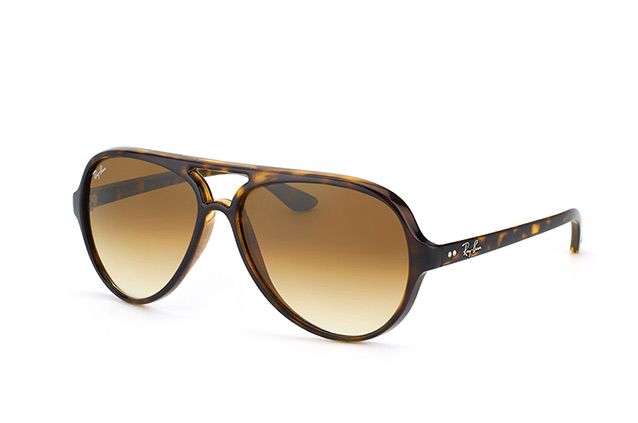Ray-Ban Cats 5000 RB 4125 710/51 vue en perpective
