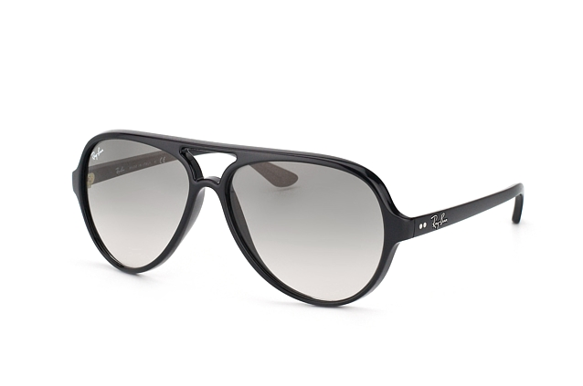 Ray-Ban Cats 5000 RB 4125 601 32 perspective ... 82b9334e80bf
