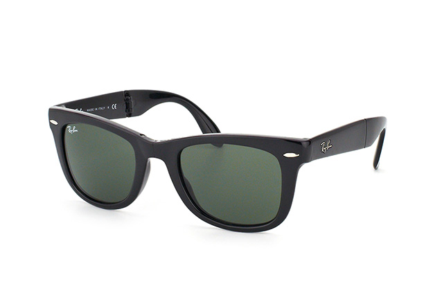 Ray-Ban Folding Wayfarer RB 4105 601 perspective view