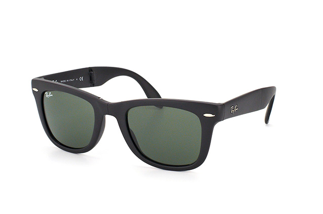 9853ac4a50 ... Sunglasses  Ray-Ban Folding Wayfarer RB 4105 601S. null perspective  view ...