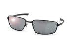 Oakley Splinter OO 4037 12-980 Negro / Gris polarizado perspective view thumbnail