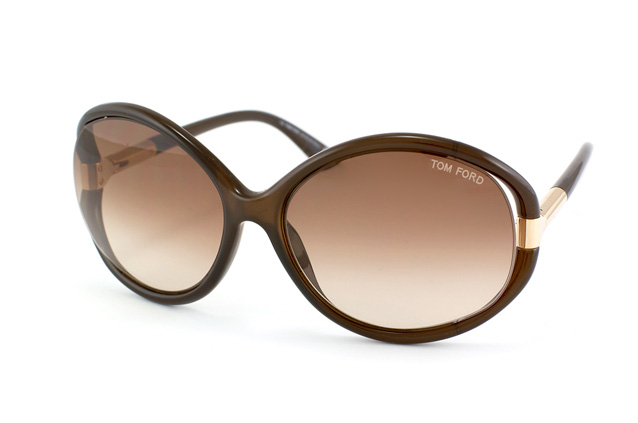 Tom Ford Sandrine FT 0124 / S 48F perspective view