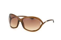 Tom Ford Jennifer FT 0008 / S 692, Butterfly Sonnenbrillen, Braun