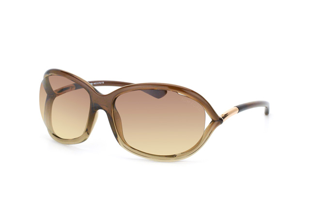 Tom Ford Jennifer FT 0008 / S 38F vue en perpective
