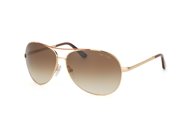 Tom Ford Charles FT 0035 / S 772 vue en perpective