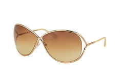 Tom Ford Miranda FT 0130 / S 28F, Butterfly Sonnenbrillen, Goldfarben