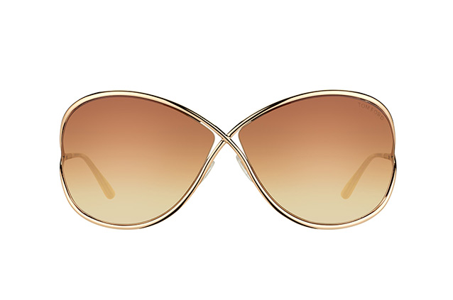 Tom Ford Miranda FT 0130 / S 28F vue en perpective