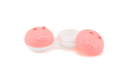 Pink Contact Lenses Case Pig mini thumbnail
