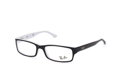 ray-ban-rx-5114-2097-rectangle-brillen-schwarz