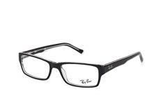 Ray-Ban RX 5169 2034, Rectangle Brillen, Transparent
