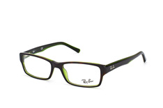 ray-ban-rx-5169-2383-rectangle-brillen-gruen