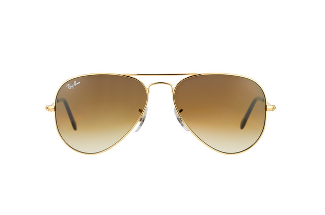 Ray-Ban Aviator RB 3025 001/51 small Perspektivenansicht