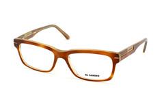 Jil Sander JS 2618 944, Rectangle Brillen, Braun