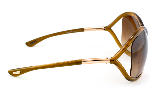 Tom Ford Whitney FT 0009 / S 74F vue en perpective