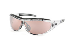 Adidas Evil Eye Pro L A 126/00 6069, Sporty Sonnenbrillen, Transparent
