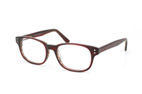 Mister Spex Collection Eddison A181 Rouge vue en perpective Thumbnail