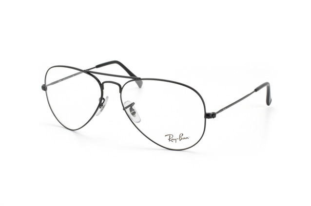 419874d348616d Ray-Ban Aviator RX 6049 2503 perspective view ...