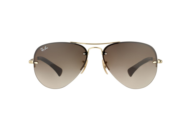 Ray-Ban RB 3449 001/13 vista en perspectiva