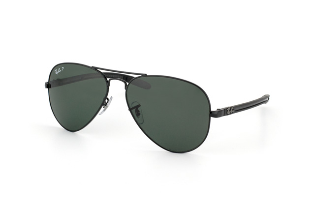 Ray-Ban Aviator Carbon RB 8307 002/N5 vista en perspectiva