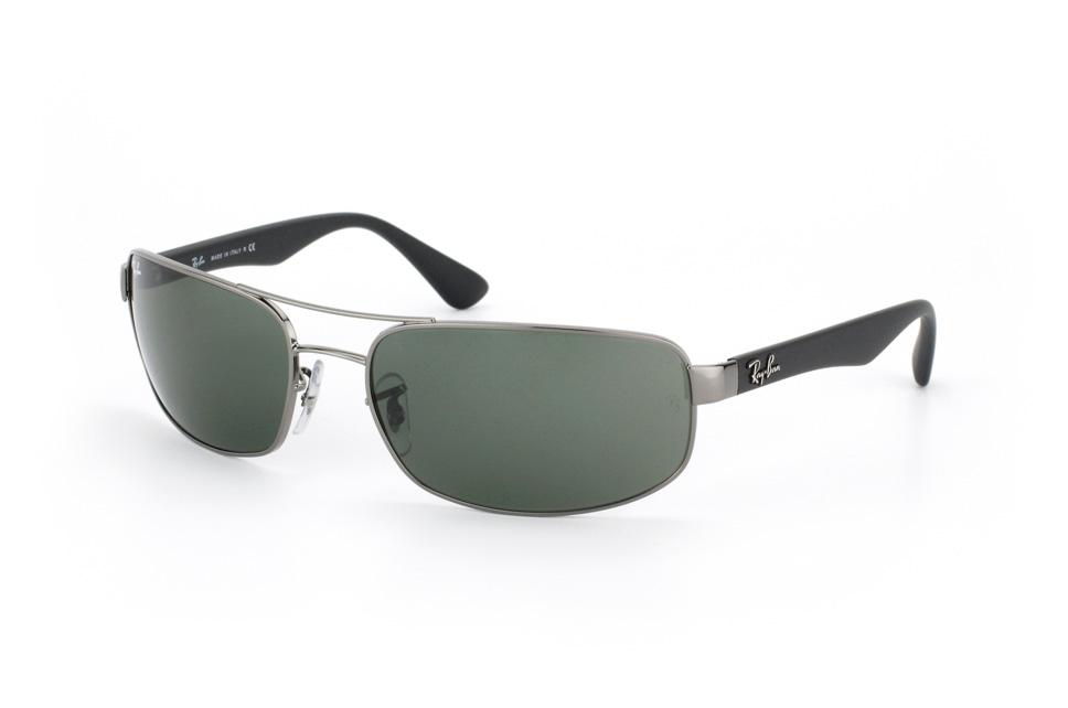 RB 3445 004, Rectangle Sonnenbrillen, Dunkelgrau