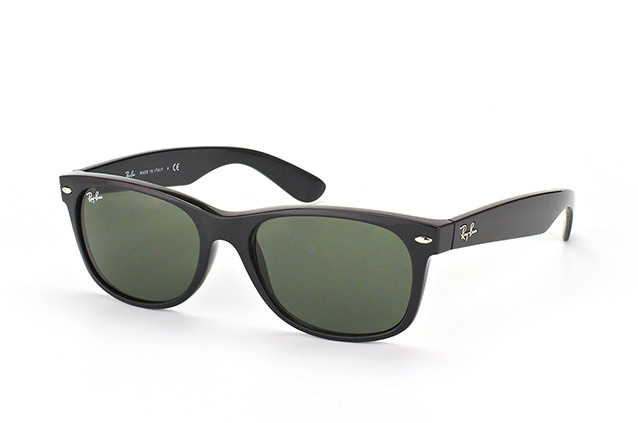 Ray-Ban New Wayfarer RB 2132 901L large Perspektivenansicht