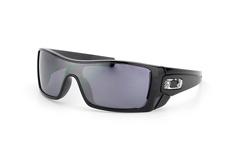 Oakley Batwolf OO 9101 01, Singlelens Sonnenbrillen, Schwarz