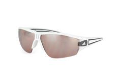 Adidas Evil Eye A 403/00 6054, Sporty Sonnenbrillen, Weiss