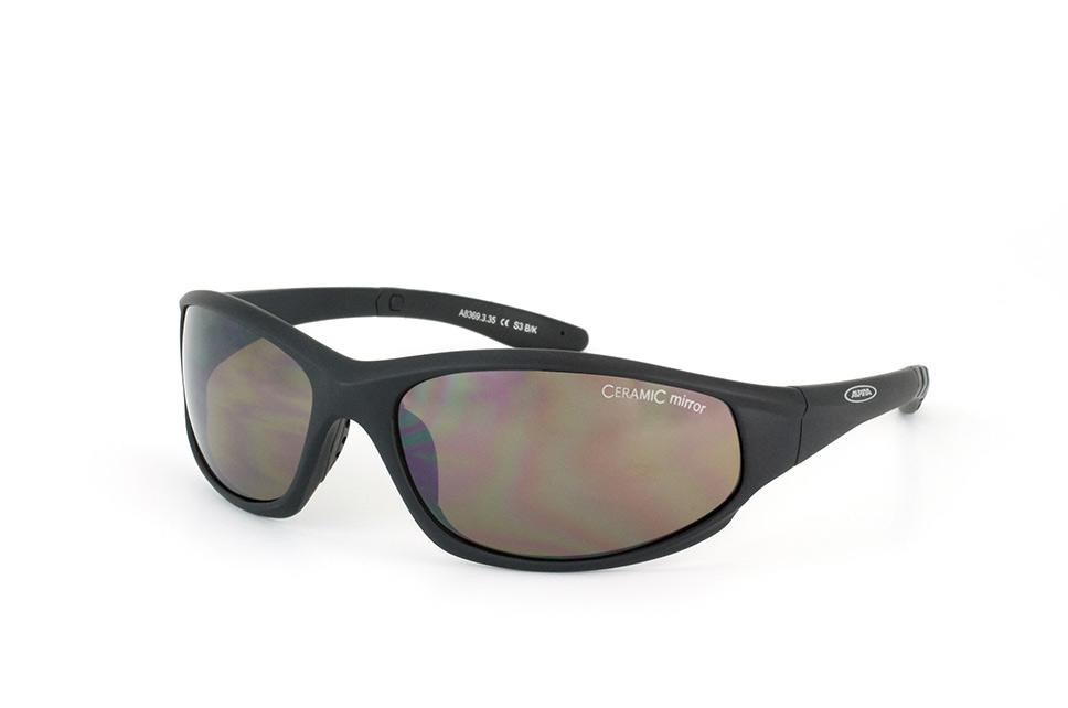 Wylder A 8369 335, Sporty Sonnenbrillen, Schwarz