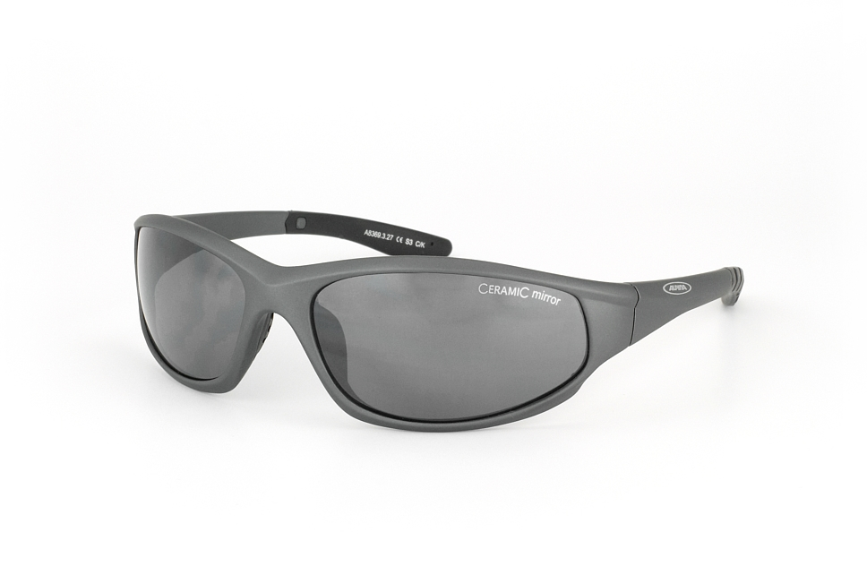 Wylder A 8369 327, Sporty Sonnenbrillen, Dunkelgrau