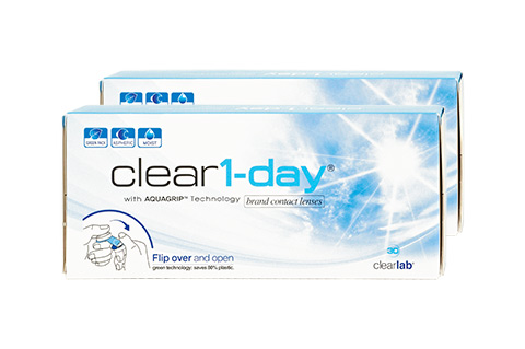 Clear1-day 2x30 Tageslinsen, clearlab