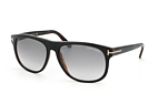 Tom Ford Olivier FT 0236 / S 05B Black / Gradient grey perspective view thumbnail
