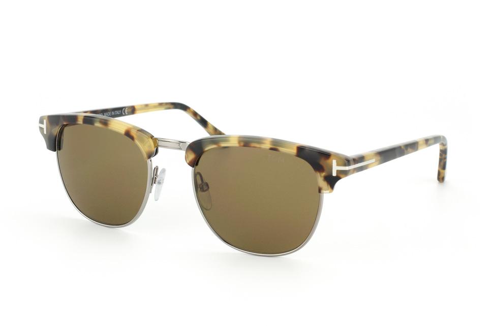 Tom Ford Herren Sonnenbrille » FT0585«, grau, 12N - grau/grün