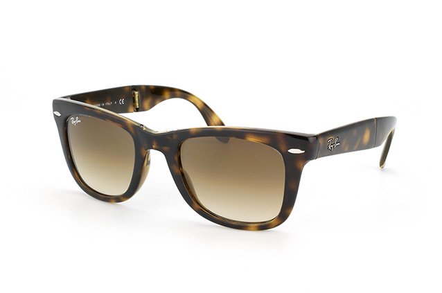 Ray-Ban Folding Wayfarer RB 4105 710/51 perspective view