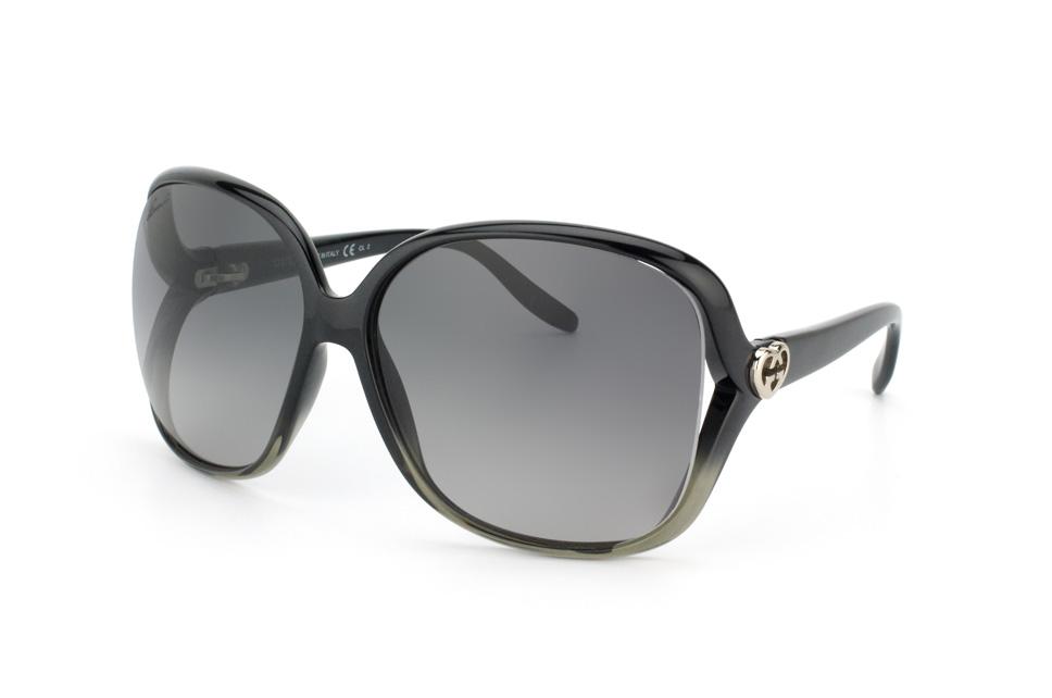 Gucci GG 3500/s WNO EU, Butterfly Sonnenbrillen, Schwarz