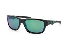 Oakley Jupiter Squared OO 9135 05, Sporty Sonnenbrillen, Schwarz