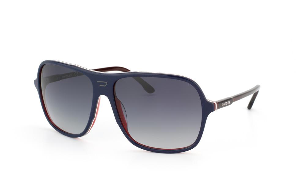 Schwarze Sonnenbrille für Damen von Diesel KQUorc